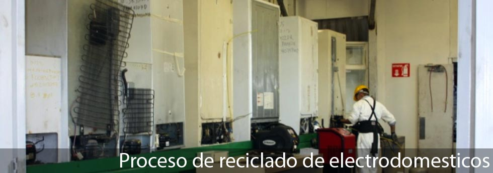 Recepción de electrodomesticos
